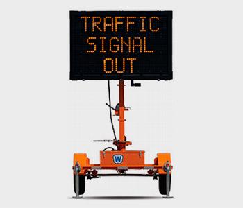Portable traffic signal hire from TSL